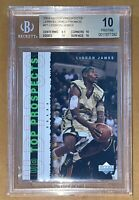 💎2003 LeBron James UPPER DECK TOP PROSPECTS PROMOS #P1 BGS 10 PRISTINE PSA gold