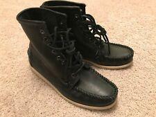 Ronnie Fieg x Sebago Seneca Moccasin Boots in US Men's 8.5 Black shoes kith