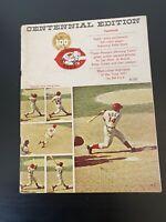 1969 CINCINNATI REDS Official Yearbook Vintage Centennial Edition BB Publication