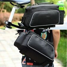 New Multi-functional Cycling Bicycle Bike Rear Seat Shoulder Pannier Hand Bag