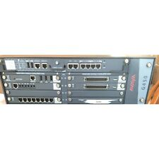 AVAYA G450 Media Gateway with 2-MP80, 2-MM716, 1-MM710B, 1-MM711, 1-S8300D
