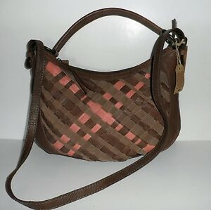 LUCKY Robertson WOVEN LEATHER Convertible Hobo Shoulder Bag/Crossbody $219 NEW