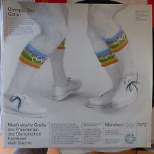 Olympic disc Geton Musical greetings of the President Munchen 1972 KIEL JO