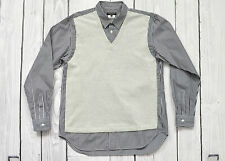 Comme Des Garcons Homme Plus Men's Stripe Shirt Size M