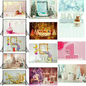 Photography Backdrop Baby Shower Party Kid Birthday Studio Photo Prop Background