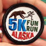 NEW! Fun Alaska Merit Badge Patch - 5K FUN RUN embroidered Alaska patch FUNNY