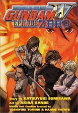 MOBILE SUIT GUNDAM WING EPISODE ZERO -- New graphic novel by Sumisawa