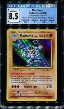Machamp - 59/108 - CGC 8.5 NM/Mint+ - Prerelease Promo - 02132