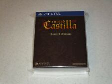Cursed Castilla EX Limited Edition Sony PS Vita Sealed Import 4000 Copies