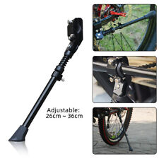 Mountain Bike Bicycle Cycle Kick Stand Adjustable Rubber Foot Heavy Duty Prop UK