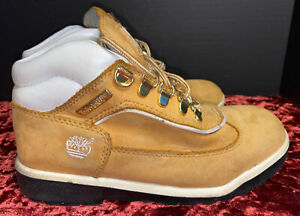 Timberland Tan And White Boots Size 3.5