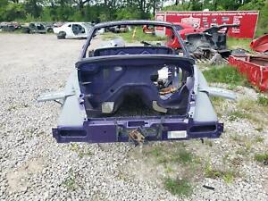 2003-2006 Chevrolet SSR OEM Front Frame Rails Left & Right Purple