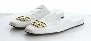 12-42 $695 Women's Size 38EU Balenciaga Cosy BB Mule in White
