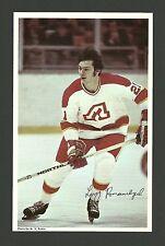 Larry Romanchych Vintage Atlanta Flames 1970s Hockey Postcard