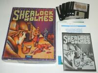 Lost Files of Sherlock Holmes Serrated Scalpel PC Game Big Box Tandy 3.5 Disk