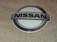 """VINTAGE NISSAN DATSUN MOTOR CORPORATION 5.5"""" PORCELAIN METAL Z GASOLINE OIL SIGN"""