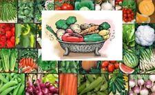VEGETABLE Garden Lot ~ Over 2,620 Fresh Seeds ~ 30 Different Varieties ~ Non GMO