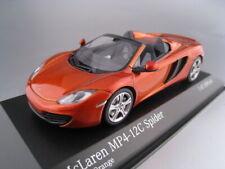McLaren MP4-12C Spider  2012  orange metallic  Minichamps  1:43  NEU