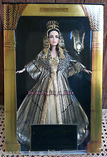 """Cleopatra Barbie Doll Elizabeth Taylor Queen of Egypt Excellent Box """""""