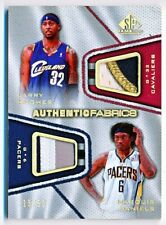 2007-08 SP Game Used Larry Hughes Marquis Daniels Fabrics Dual Patch #AFD-HD /50