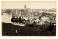 Suisse, Berne  Vintage albumen print. Vintage Switzerland  Tirage albuminé