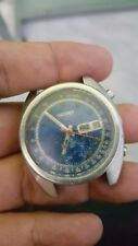 VINTAGE SEIKO 6139 6012 CHRONOGRAPH AUTOMATIC FOR PARTS USE OR RESTORE PROJECT