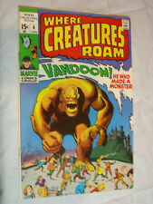 Where Creatures Roam #4 F Vandoom ! he who made a monster