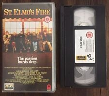 ST. ELMO'S FIRE PAL VHS (1985, PAL CC 7147) P110