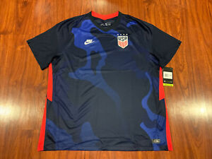 2020-21 Nike Breathe Men's United States Away Soccer Jersey XXL 2XL USA US USWNT