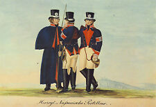 AK: Herzoglich Nassauische Postillione, um 1820