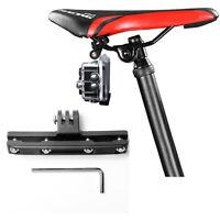 Bike Saddle Seat Lock Mount Holder Adapter for GoPro Hero 5 6 7 8 Action Camera