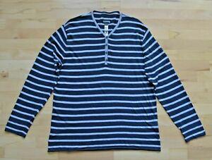 TRANSIT Uomo - Henley Longsleeve Shirt Gr. XXL - super Zustand