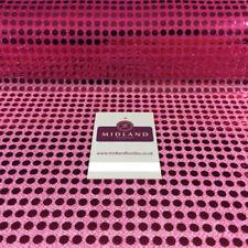 Tessuti e stoffe rose in paillettes per hobby creativi, lunghezza/quantità al metro