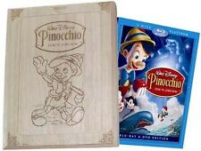 Disney Pinocchio Platinum Limited Edition Wood Wooden Box Holzbox Blu-ray DVD