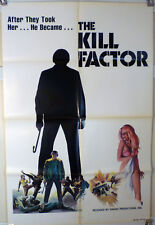 1978 KILL FACTOR (AKA: DEATH DIMENSION ) 1 SHT KUNG FU POSTER - VINTAGE MARTIAL