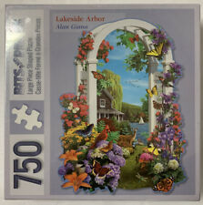 Bits & Pieces 750 Piece Jigsaw Puzzle Lakeside Arbor by Alan Giana New & Sealed!