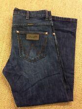 Mens WRANGLER W34 L30 Kane Blue Denim Loose Jeans