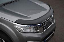 Bonnet Trim Hood Protector Bug Guard Wind Deflector To Fit Nissan Navara (15+)