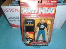 Jakks WWE WWF Mattel Figure NEW Raw Heat Stone Cold Steve Austin