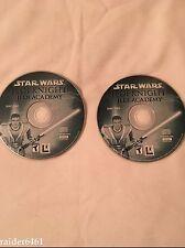 Star Wars: Jedi Knight Jedi Academy (PC, 2003) Both Discs Only