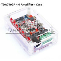TDA7492P 2 x 25W Bluetooth 4.0 Audio-Receiver Amplifier Module Board + Case