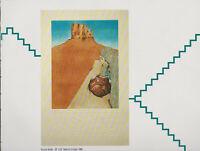 Amado Pena' -CANYON, WOMAN WITH POT -New Mexico Art Print 9X11.5