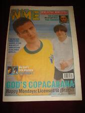 NME 1991 FEB 16 HAPPY MONDAYS BEZ SHAUN RYDER CLASH RICK ASTLEY SPACEMEN 3