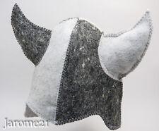 Viking Sauna hat, cap Saunahattu, Wool Felt Saunahut High quality