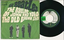 "THE BEATLES 45 TOURS 7"" FRANCE THE BALLAD OF JOHN AND YOKO"