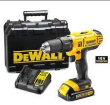 DeWalt Cordless 18V 1.3Ah Li-Ion Combi Drill DCD776C1 Case Charger Battery