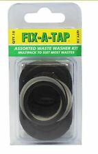 FIX-A-TAP Assorted Waste Washer Kit To Suits Most Wastes (10pcs)