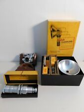 Vintage Kodak 35 Camera, Lens and Accessories with original boxes