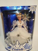 vintage 1996 Disney Fairytale Cinderella Holiday Princess Barbie Doll 16090