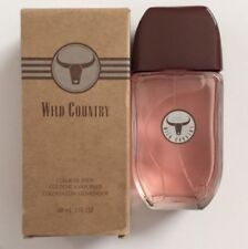 AVON WILD COUNTRY Cologne Spray 3 Fl. Oz Fresh Woody/Earth Scent **NEW IN BOX**